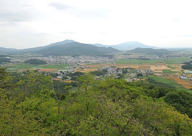 桜川市岩瀬地区の景観